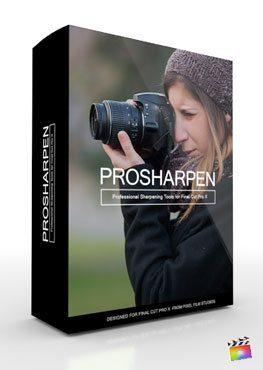 Final Cut Pro X Plugin ProSharpen from Pixel Film Studios