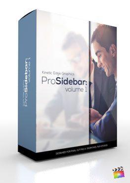 Final Cut Pro X Plugin ProSidebar Volume 1 from Pixel Film Studios