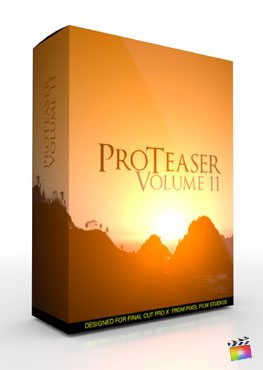Final Cut Pro X Plugin Proteaser Volume 11 from Pixel Film Studios
