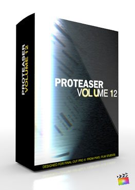 Final Cut Pro X Plugin Proteaser Volume 12 from Pixel Film Studios