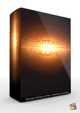 Final Cut Pro X Plugin Proteaser Volume 5 from Pixel Film Studios