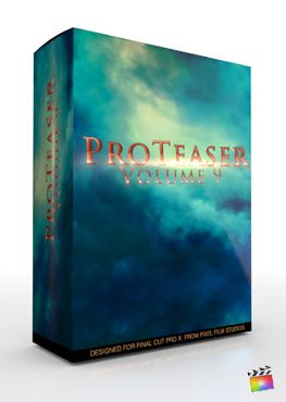 Final Cut Pro X Plugin Proteaser Volume 9 from Pixel Film Studios