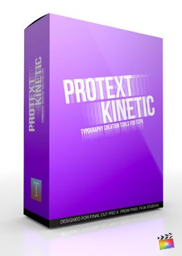 Final Cut Pro X Plugin ProText Kinetic from Pixel Film Studios
