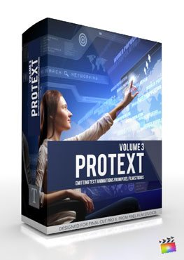 Final Cut Pro X Plugin ProText Volume 3 from Pixel Film Studios