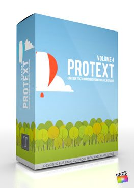 Final Cut Pro X Plugin ProText Volume 4 from Pixel Film Studios
