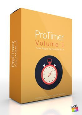 Final Cut Pro X Plugin ProTimer Volume 1 from Pixel Film Studios