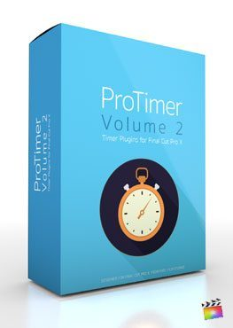 Final Cut Pro X Plugin ProTimer Volume 2 from Pixel Film Studios