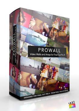 Final Cut Pro X Plugin ProWall from Pixel Film Studios