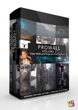 Final Cut Pro X Plugin ProWall Volume 2 from Pixel Film Studios