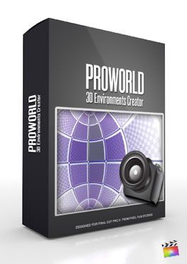 Final Cut Pro X Plugin ProWorld from Pixel Film Studios