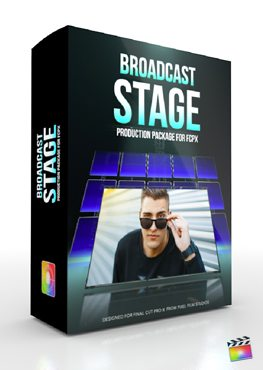 Final Cut Pro X Plugin Production Package Broadcast Stage from Pixel Film Studios