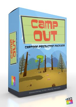 Final Cut Pro X Plugin Production Package Camp Out from pixel Film Studios