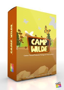 Final Cut Pro X Plugin Production Package Theme Camp Wilde from Pixel Film Studios