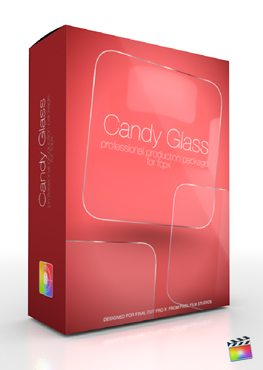Final Cut Pro X Plugin Production Package Candy Glass from pixel Film Studios