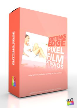 Final Cut Pro X Plugin Production Package Cutting Edge from Pixel Film Studios