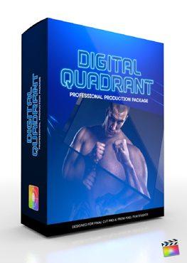 Final Cut Pro X Plugin Production Package Digital Quadrant from Pixel Film Studios