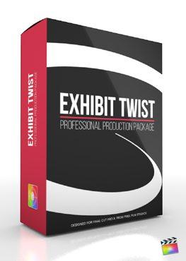 Final Cut Pro X Plugin Production Package Exhibit Twist from Pixel Film Studios