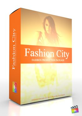 Final Cut Pro X Plugin Production Package Fashion City from Pixel Film Studios