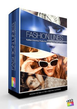 Final Cut Pro X Plugin Production Package Fashion Lines from Pixel Film Studios