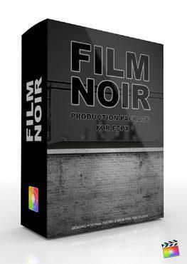 Final Cut Pro X Plugin Production Package Film Noir from Pixel Film Studios