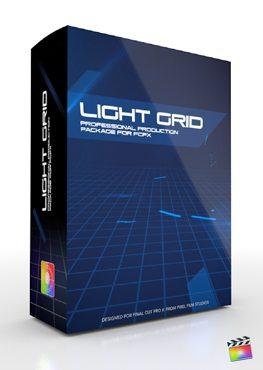 Final Cut Pro X Plugin Production Package Light Grid from Pixel Film Studios