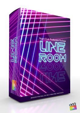 Final Cut Pro X Plugin Production Package Line Room from Pixel Film Studios