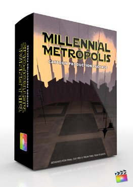 Final Cut Pro X Plugin Production Package Millennial Metropolis from Pixel Film Studios