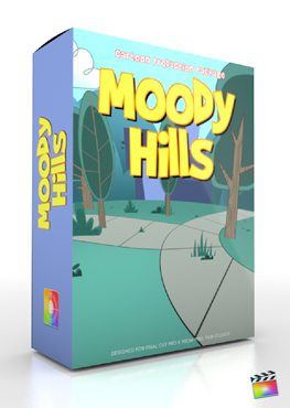 Final Cut Pro X Plugin Production Package Moody Hills from FCPX
