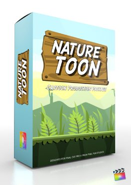 Final Cut Pro X Plugin Production Package Nature Toon from Pixel Film Studios