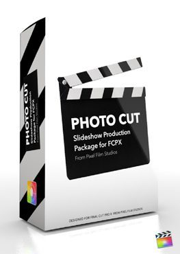 Final Cut Pro X Plugin Production Package Theme Photo Cut from Pixel Film Studios