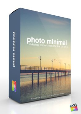 Final Cut Pro X Plugin Production Package Photo Minimal from Pixel Film Studios