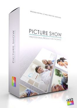 Final Cut Pro X Plugin Production Package Picture Show from Pixel Film Studios