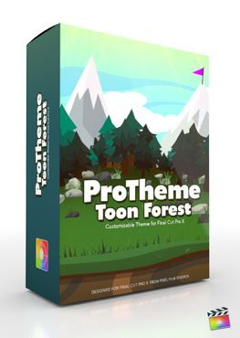 Final Cut Pro X Plugin Production Package ProTheme Toon Forest from Pixel Film Studios