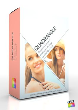 Final Cut Pro X Plugin Production Package Quadrangle from Pixel Film Studios