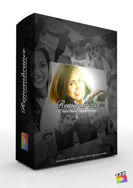 Final Cut Pro X Plugin Production Package Theme Remembrance from Pixel Film Studios