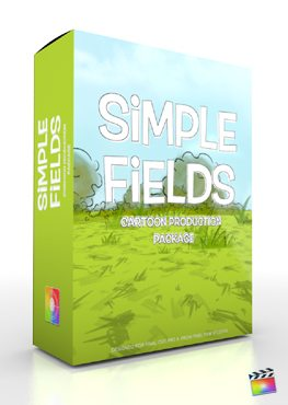 Final Cut Pro X Plugin Production Package Simple Fields from Pixel Film Studios
