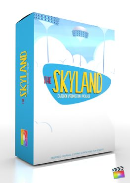 Final Cut Pro X Plugin Production Package Skyland from Pixel Film Studios