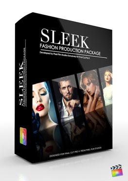 Final Cut Pro X Plugin Production Package Sleek from Pixel Film Studios