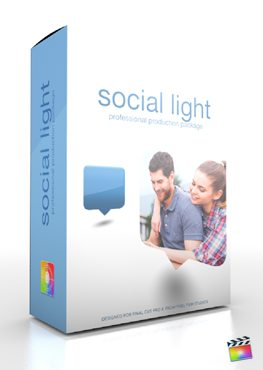Final Cut Pro X Plugin Production Package Social Light from Pixel Film Studios