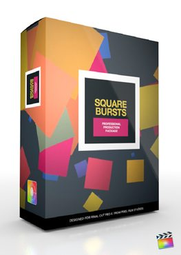 Final Cut Pro X Plugin Production Square Bursts from Pixel Film Studios