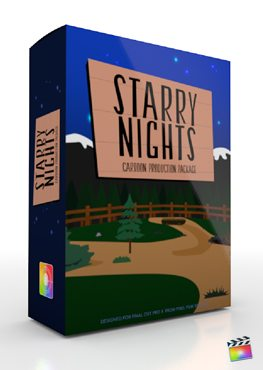 Final Cut Pro X Plugin Production Package Starry Nights from Pixel Film Studios