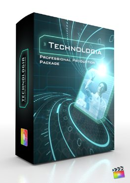Final Cut Pro X Plugin Production Package Technologia from Pixel Film Studios