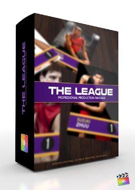 Final Cut Pro X Plugin Production Package The League from Pixel Film Studios
