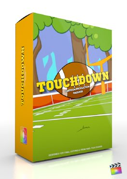 Final Cut Pro X Plugin Production Package Touchdown from Pixel Film Studios