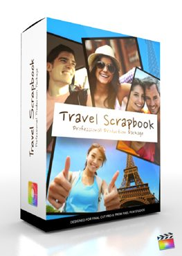 Final Cut Pro X Plugin Production Package Travel Scrapbook from Pixel Film Studios
