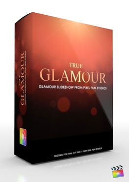 Final Cut Pro X Plugin Production Package Theme True Glamour from Pixel Film Studios