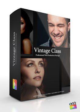 Final Cut Pro X Plugin Production Package Theme Vintage Class from Pixel Film Studios