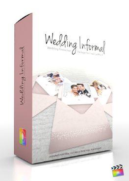 Final Cut Pro X Plugin Production Package Wedding Informal from Pixel Film Studios
