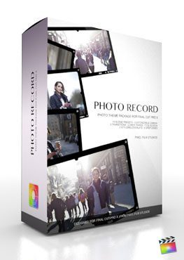 Final Cut Pro X Plugin Production Package Photo Record from Pixel Film Studios