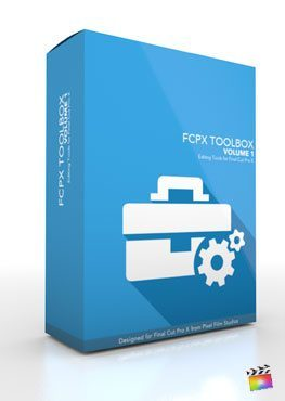 Final Cut Pro X Plugin FCPX Toolbox Volume 1 FROM Pixel Film Studios